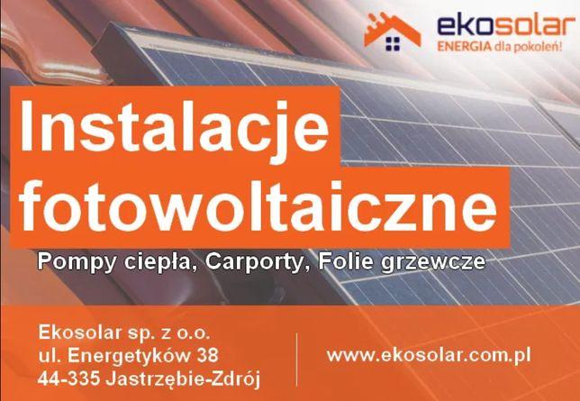 Fotowoltaika - Instalacja 3,92 kWp od 16500 zł brutto