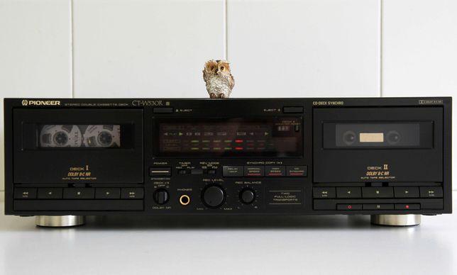 Pioneer TC-W530R Tape Deck Cassetes duplo autoreverse