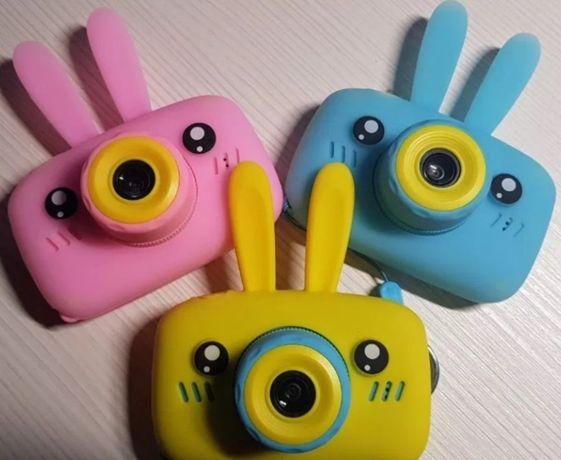Фотик с 2 камерами. Детский цифровой фотоаппарат с селфи камерой.