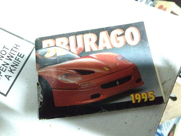 Katalog Bburago burago 1995 rok catalogue