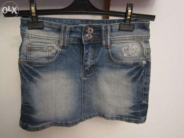 Spódnica jeansowa rozm. 128/134