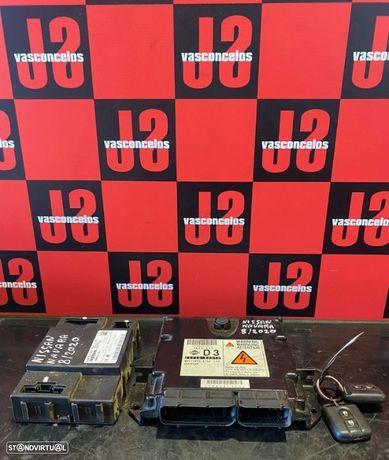 Conjunto de centralina Nissan Navara D40 2.5 DCI 177cv 08´