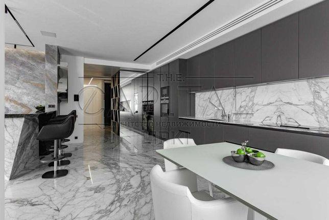 Уникальная 4к квартира в мраморе с проектором Новопечерские Липки