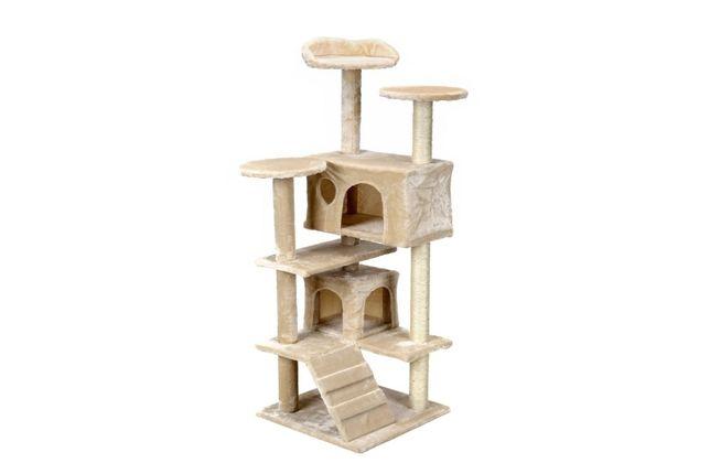 Drapak dla kota 7 poziomów dwa domki