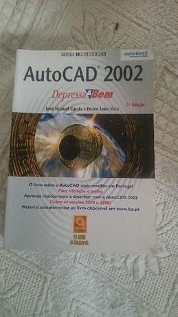 Autocad 2002 Depressa & Bem livro em excelente e fabulosa condiçao