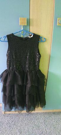 Sukienka z cekinami dziewczęca