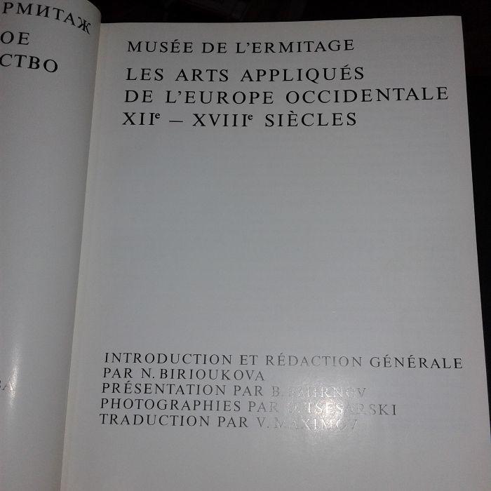 Ermitaże z XII XVIII wieków w językach rosyjskim i francuskim Warszawa - image 1