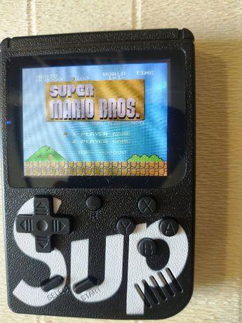 Новая приставка Sup Game box 400 Игр 8-bit. Портативная консоль.