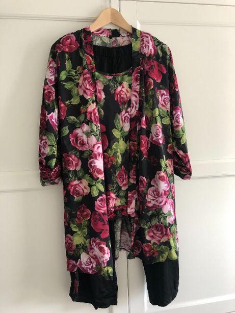 Intimissimi nowa damska piżama koszula nocna + szlafrok