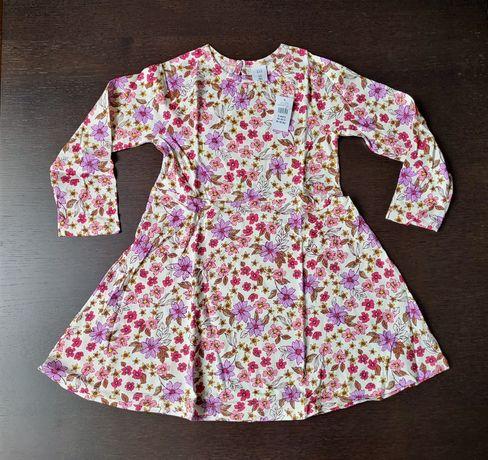 Платье gap 5 лет плаття 5t GAP весна нарядное длинный рукав хлопок 110