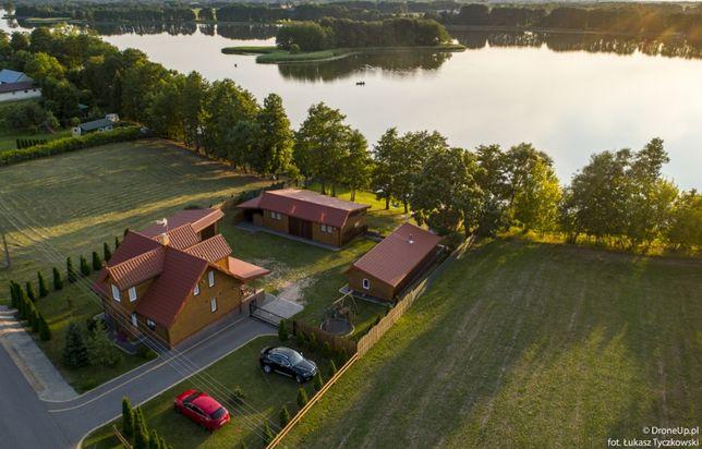 Wynajem Domku nad jeziorem Sauna Ruska Bania Wakacje Nocleg Mazury dom