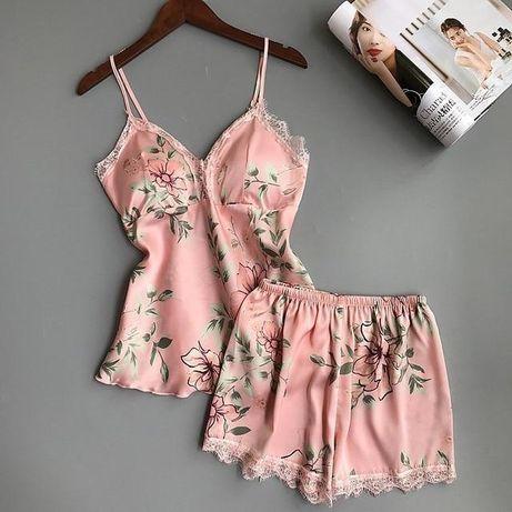 Kwiecista piżama M nowa