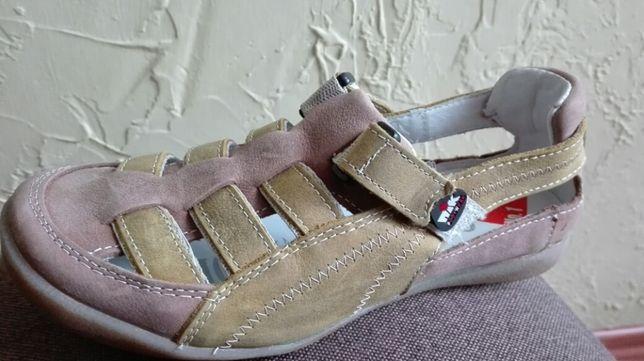 Skórzane sndały / buty Giatoma Niccoli