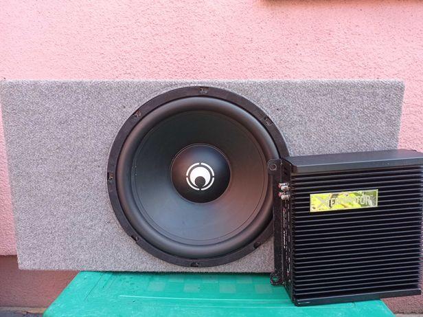 Subwoofer RE AUDIO 12S4 + Wzmacniacz XT-800.2 - US Amps