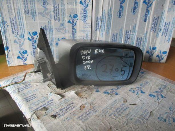 Espelho cinza 0117351 BMW / E46 / 2001 / FRT / 5P / ELETRICO /