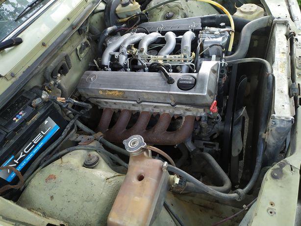 Мотор, двигун, коробка мерсесес 123,124,190