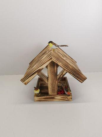 Drewniany karmnik opalany KR-9