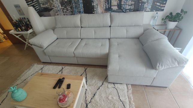 Sofa cama com chaise longue