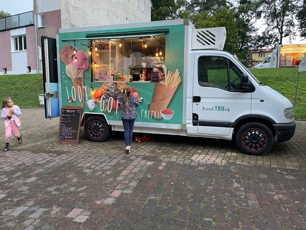 Super Food truck / Renault Master / wyposazony/