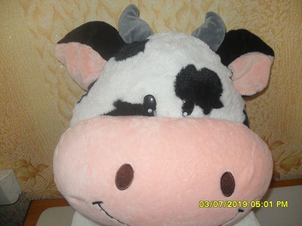 Большая мягкая коровка.