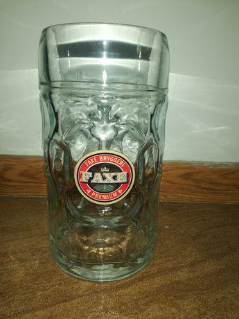 Kufel szklany 1L, pokal, szklanka
