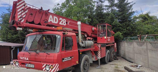 Żuraw Tatra AD 28 ( dzwig )