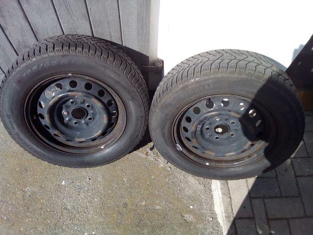 Opony zimowe z felgami Pirelli 195/65 R15 Toyota, Fiat, Suzuki inne