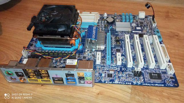 Płyta główna. + Procesor AMD II X4 620 +DDR3 2GB
