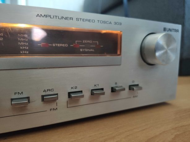 Amplituner Tosca 303 + głośnik Unitra Tonsil