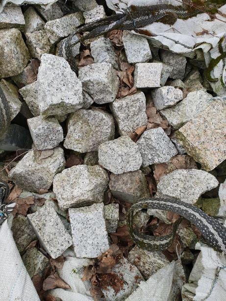 Kostka odpadowe granit różne kolory