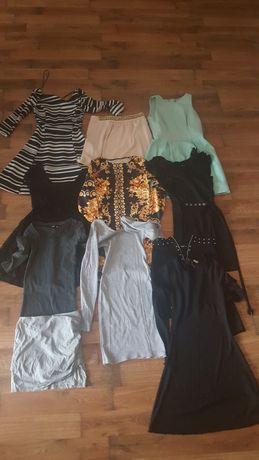OKAZJA !!! GiGA PAKA UBRAŃ 27 szt.xs/s, kurtki, spodnie, bluzki,suknie