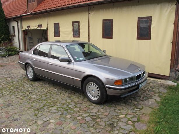 BMW Seria 7 BMW E38 bardzo zadbane, 109 tyś km