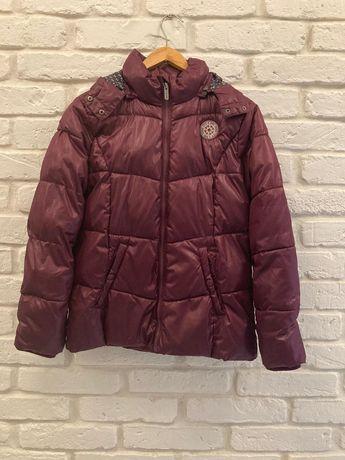 Ciepła zimowa kurtka na zimę rozm. 164