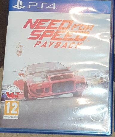 Sprzedam need for speed payback na ps4