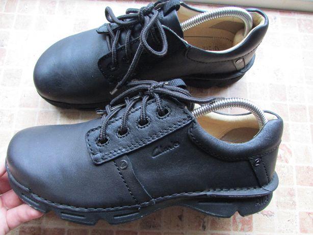 туфли мокасины кроссовки Clarks Air кожа мужские длина стельки 27,5 с