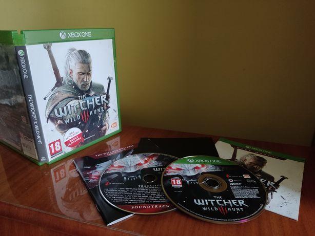 Wiedźmin: dziki gon + soundtrack gra Xbox One s X Series X