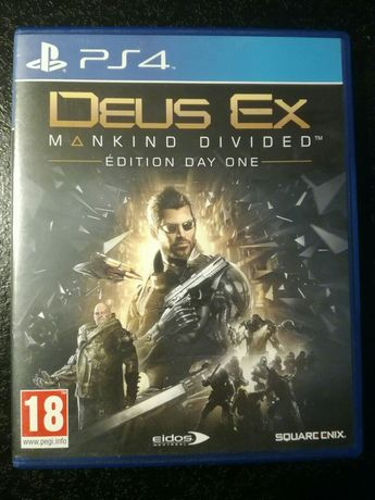 Gra PS4 DEUS EX konsola gry