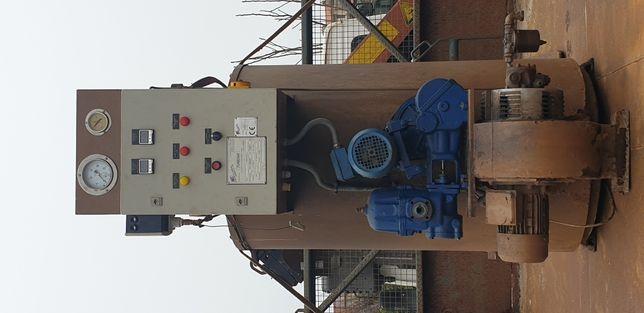 Caldeira de vapor a gasóleo.
