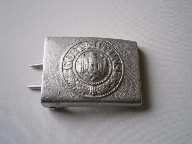бляха пряжка немецкая алюминиевая вермахт
