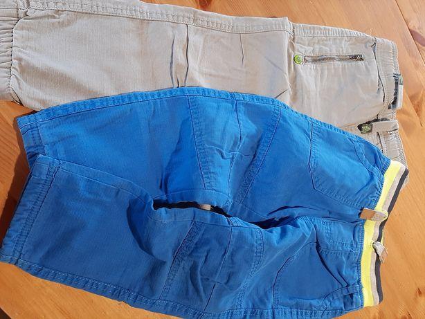 Spodnie z ociepleniem 2szt