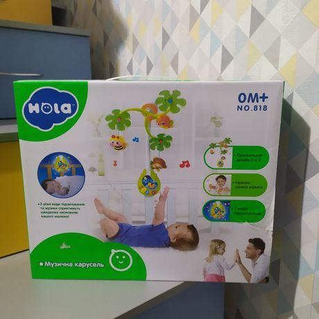 Музыкальный мобиль Hola Toys Веселый остров