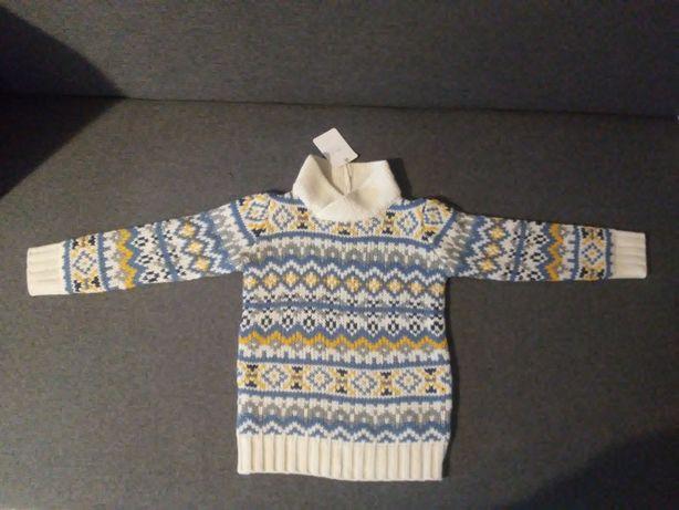 Swetr dla chłopca