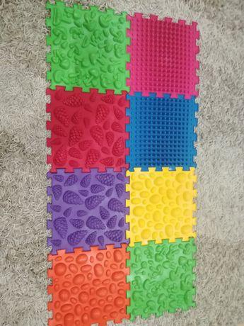 Ортопедические массажные коврики Ортомикс. Набор 8шт