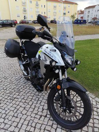Honda cb500x como nova
