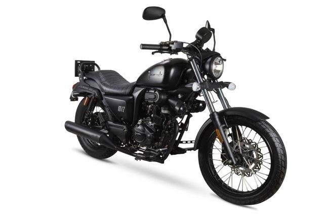 Motocykl Junak M12 Vintage poj. 125 ccm, kat. B, Nowy, Gwarancja DDZ