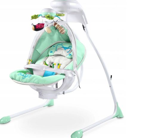 Huśtawka niemowlęca Caretero Bugies miętowa
