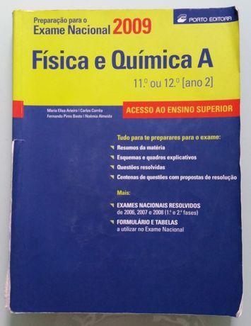 Livro para o exame nacional de FQ A - 10 e 11º ano