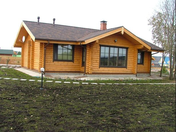 деревянный дом 108м