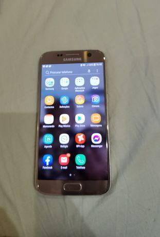 Samsung S7 + fones + cabo extra