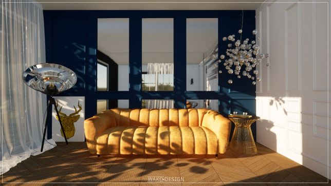 Projektowanie wnętrz, wizualizacje, koncepcje   cena od 50 zł/m²  